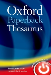 Image for Oxford paperback thesaurus