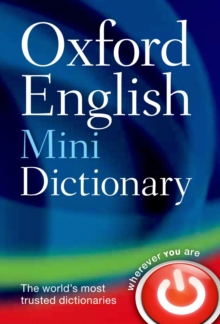 Image for Oxford English mini dictionary