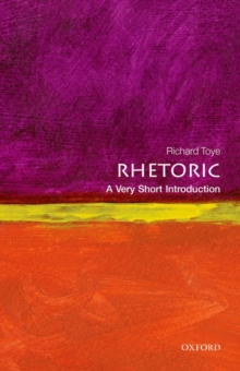 Image for Rhetoric  : a very short introduction