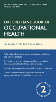 Image for Oxford handbook of occupational health