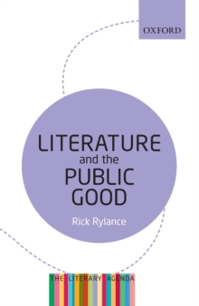 Image for Literature and the public good