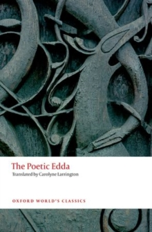Image for The poetic Edda