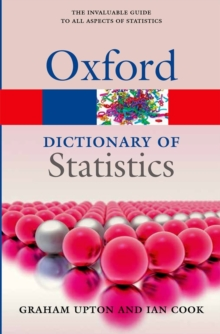 Image for A dictionary of statistics
