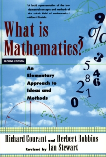 Image for What is mathematics?: an elementary approach to ideas and methods