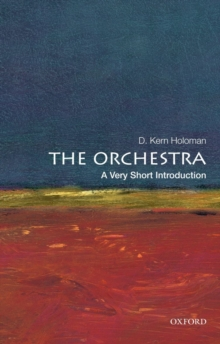 Image for The orchestra  : a very short introduction