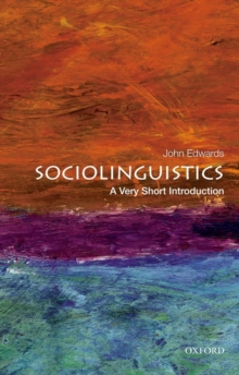 Image for Sociolinguistics  : a very short introduction