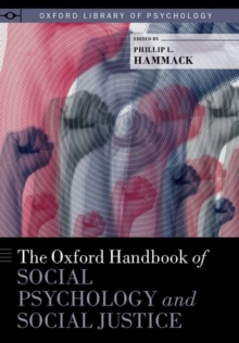 Image for The Oxford handbook of social psychology and social justice