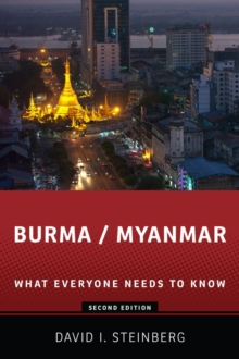 Image for Burma/Myanmar : What Everyone Needs to Know (R)
