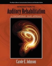 Image for Aural rehabilitation  : a contemporary issues approach