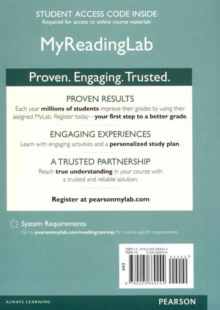 Image for NEW MyLab Reading Generic without Pearson eText -- Standalone Access Card