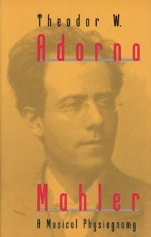 Image for Mahler : A Musical Physiognomy