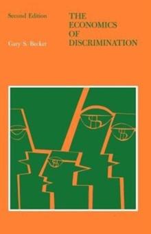 Image for The economics of discrimination