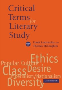 Image for Critical Terms for Literary Study, Second Edition