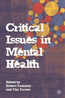 Image for Critical issues in mental health