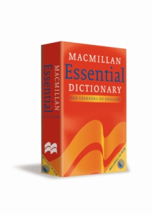 Image for Macmillan essential dictionary  : for learners of English