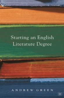 Image for Starting an English literature degree