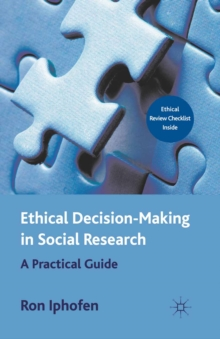 Image for Ethical Decision Making in Social Research: A Practical Guide