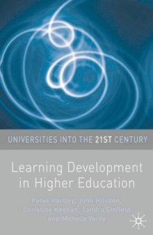 Image for Learning development in higher education