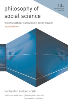 Image for Philosophy of social science  : the philosophical foundations of social thought