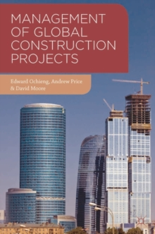 Image for Management of global construction projects