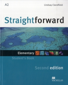 Image for Straightforward 2nd Edition Elementary Level Student's Book