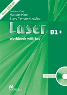 Image for Laser 3rd edition B1+ Workbook  with key & CD Pack