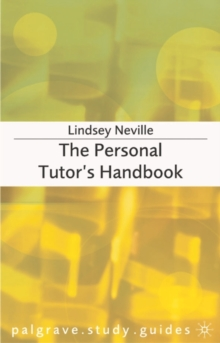 Image for The personal tutor's handbook