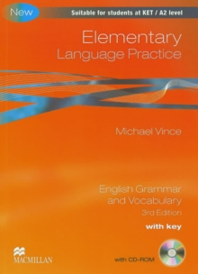 Image for Elementary language practice  : English grammar and vocabulary