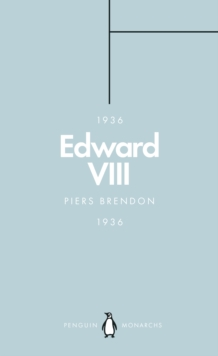 Image for Edward VIII: the uncrowned king