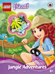 Image for LEGO Friends: Jungle Adventures Activity Book with Miniset