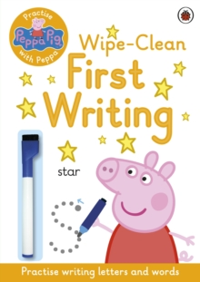 Image for Peppa Pig: Practise with Peppa: Wipe-Clean First Writing