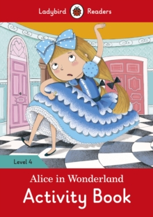 Alice in wonderland busy book