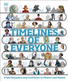 Timelines of everyone  : from Cleopatra and Confucius to Mozart and Malala - DK