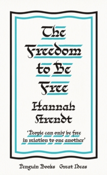 Image for The freedom to be free