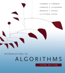 Image for Introduction to algorithms