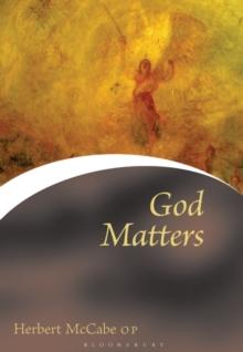 Image for God matters