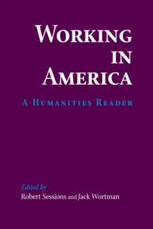 Image for Working In America : A Humanities Reader