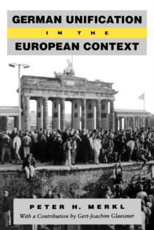 Image for German Unification in the European Context