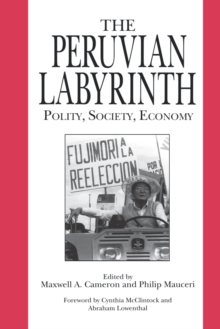 Image for The Peruvian Labyrinth : Polity, Society, Economy