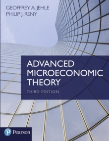 Image for Advanced microeconomic theory