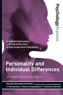 Personality and individual differences - Butler, Terence