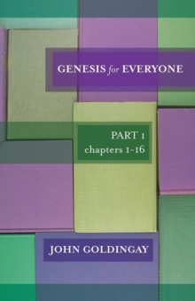Image for Genesis for Everyone : Part 1 Chapters I-16