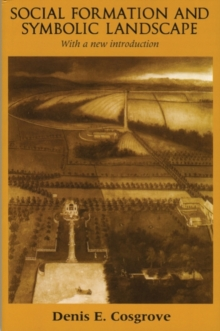 Image for Social formation and symbolic landscape