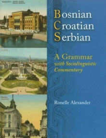 Image for Bosnian, Croatian, Serbian : A Grammar with Sociolinguistic Commentary