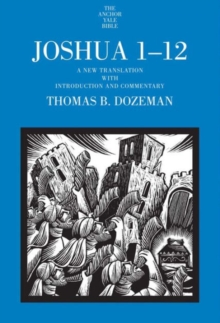 Image for Joshua 1-12  : a new translation with introduction and commentary