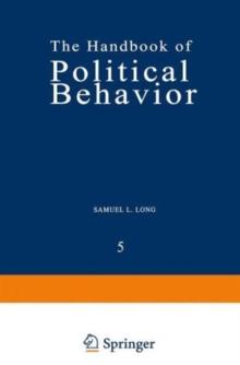 005: The Handbook of Political Behavior: Volume 5
