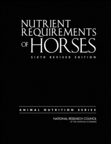 Image for Nutrient requirements of horses