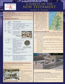 A Survey of the New Testament Laminated Sheet (Zondervan Get an A! Study Guides)
