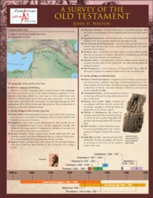 A Survey of the Old Testament Laminated Sheet (Zondervan Get an A! Study Guides)