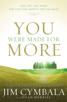 Image for You Were Made for More : The Life You Have, the Life God Wants You to Have